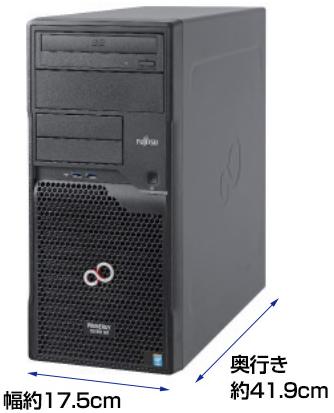 【一太郎マウス型スキャナがおまけ】FUJITSU PRIMERGY TX1310 M1 - OSレス デスクトップPC - 安値世界一への挑戦